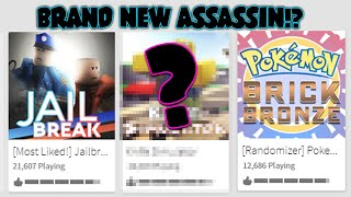 BRAND NEW ASSASSIN GAMEMODE!!! (#2 GAME IN ROBLOX)