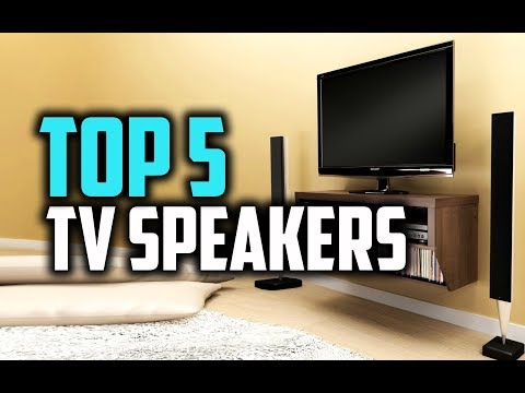 Best TV Speakers in 2018 - Buying Guide & Everything You Need To Know!