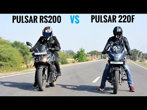 Pulsar RS200 BS4 VS Pulsar 220 BS4   RACE   HIGHWAY BATTLE   TOP END