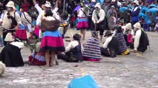 akshu tatay(recultivo de papa) barrio  miraflores sapallanga 2015