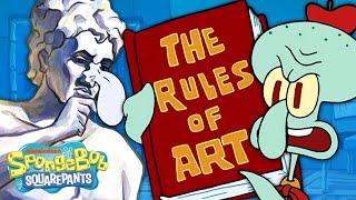 That Time Squidward Taught SpongeBob Art  | The Squidward Show Ep. 2