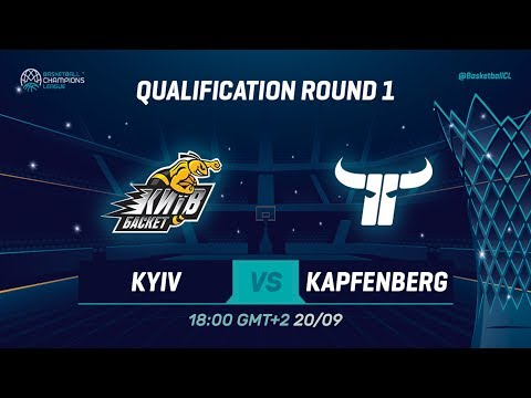 BC Kyiv V Kapfenberg Bulls - Qual. Rd. 1 - Full Game - Basketball Champions League 2019-20