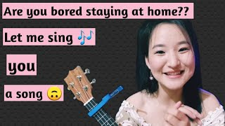   Main koi aisa geet gaun  Raw Cover on ukulele  Yami Puri
