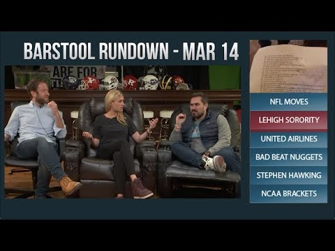 Barstool Rundown - March 14, 2018
