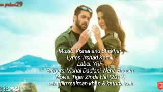 SWAG SE SWAGAT | lyrics & translation indo | Tiger Zinda Hai -movie