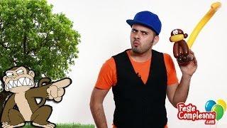 Palloncini Modellabili Scimmia - Balloon Monkey - Tutorial 70 - Feste Compleanni