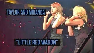 """Miranda Lambert and Taylor Swift Sing """"Little Red Wagon"""""""