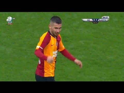 Galatasaray  3 - 1 Alanyaspor (Galatasaray'ın 3. Golü - Adem Büyük)
