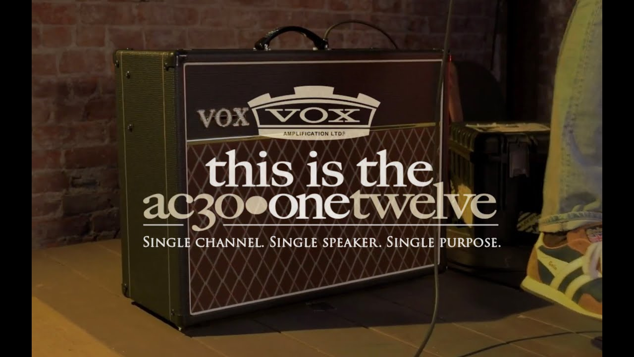VOX AC30 OneTwelve – Single Channel, Single Speaker, Single Purpose