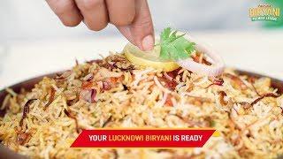 Fortune Biryani Premier League - Lucknowi Biryani Recipe | CookWithNisha