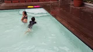 Swimming Hotel Aston Bandung...07 10 2017