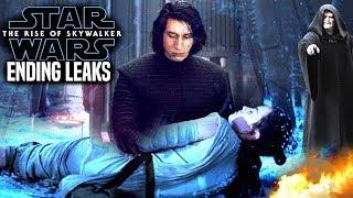 huge the rise of skywalker ending spoilers star wars episode 9 leaks