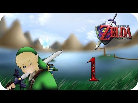 Let's Play Zelda Ocarina of Time [German][#1] - Die Vision eines Helden!