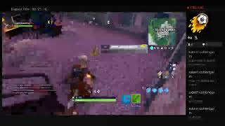 My First Livestream Of playing fortnite