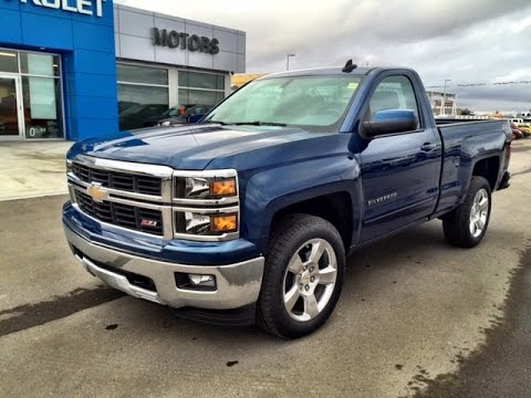 Blue 2017 Chevrolet Silverado Z71 4wd Lt Regular Cab At Scougall Motors In Fort Macleod Ab