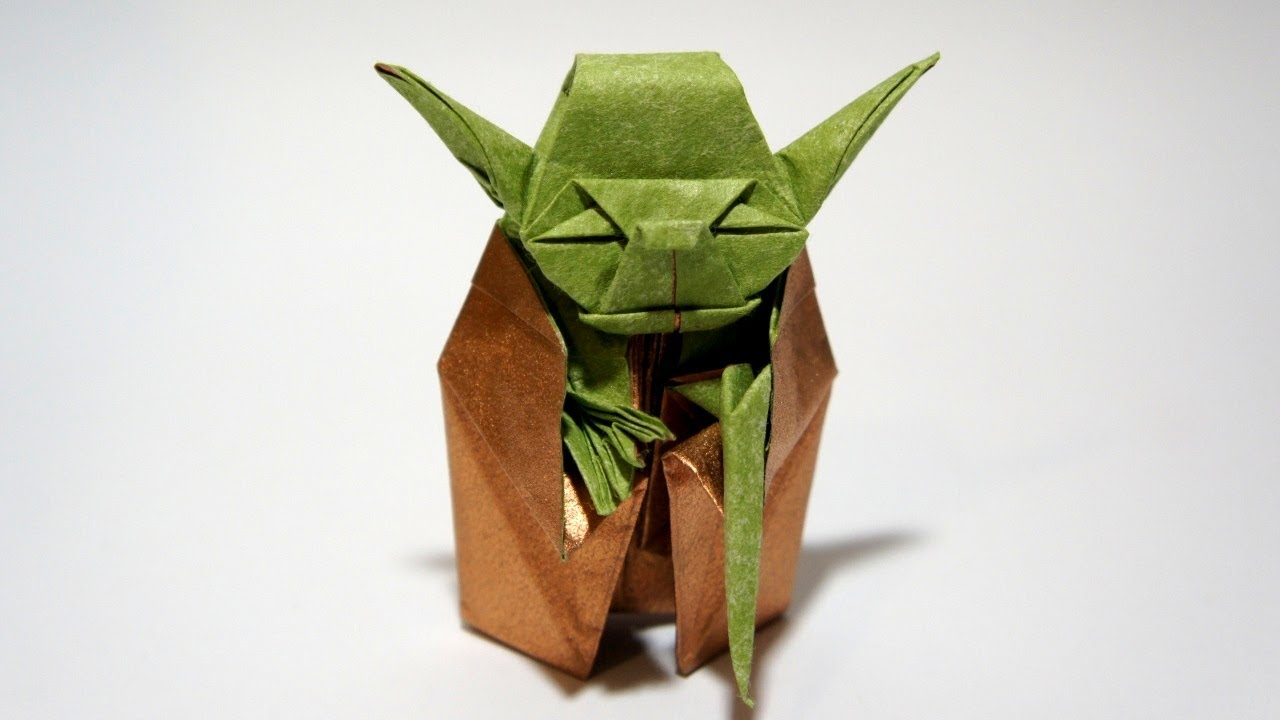 Van Jahnke Origami Yoda Instructions