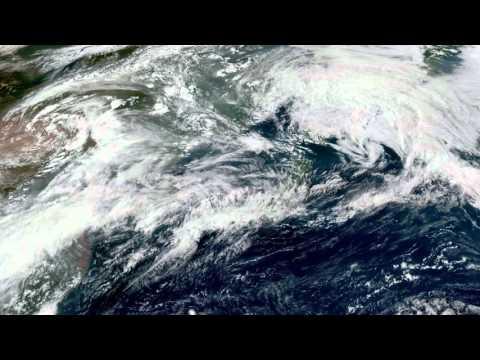 Earth From Space - Aug 19, 2015: Japan, Korea, Beijing & Shanghai