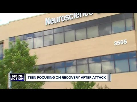 Teen focused on recovery after raccoon attack