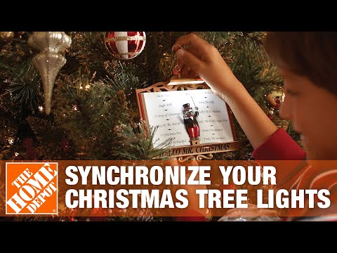 How To Synchronize Your Christmas Tree Lights to Music with Maestro Mouse - The Home Depot