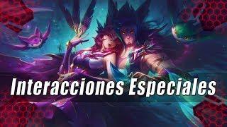 Interacciones Especiales - Xayah & Rakan Guardianes Estelares Español Latino |Completo|