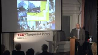 TEDxTurgenevLibrary - Nikolay Pryanishnikov - Library of Smart City concept