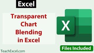 Make A Transparent Chart In Excel Teachexcel Com