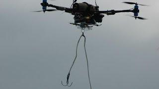 World's 1st epic FPV quadcopter rescue