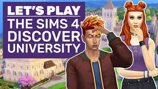 Lets Play The Sims 4 Discover University | Discover University Impressions