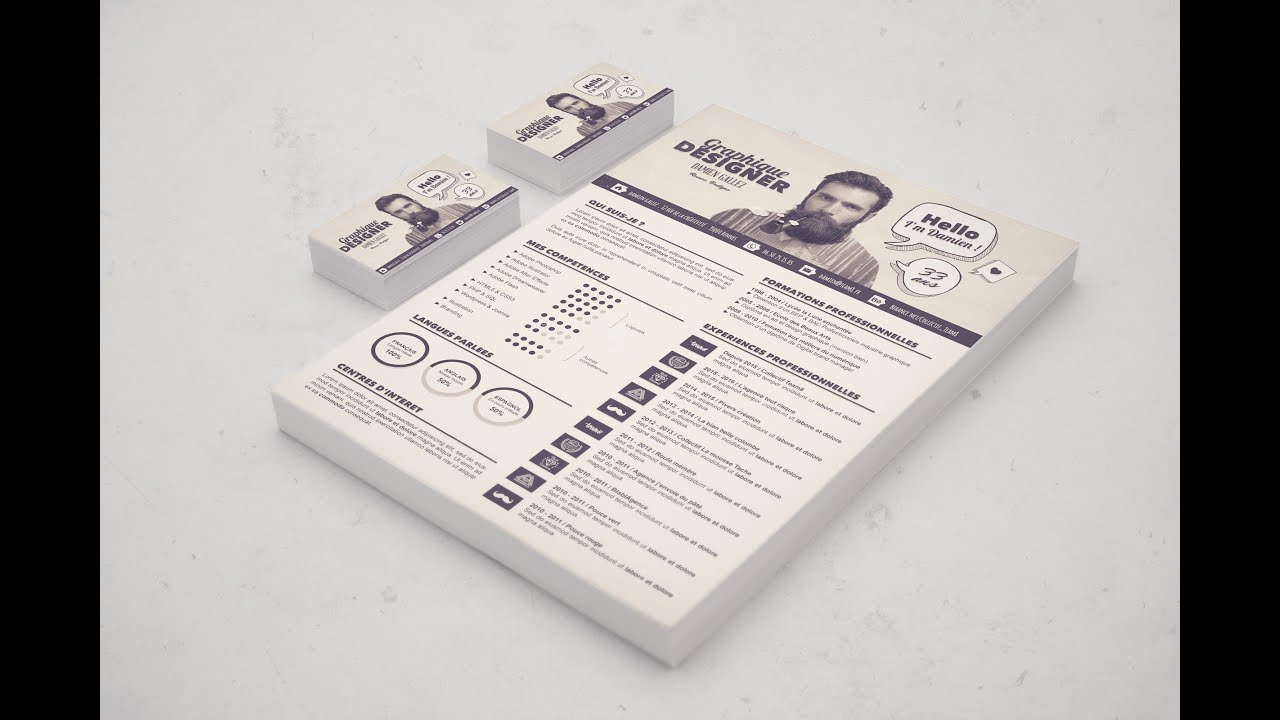 comment faire un cv de graphiste