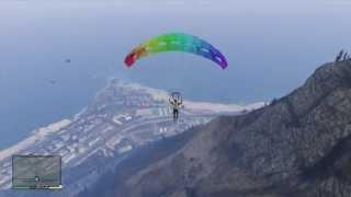 GTA V - How to Equip your Parachute