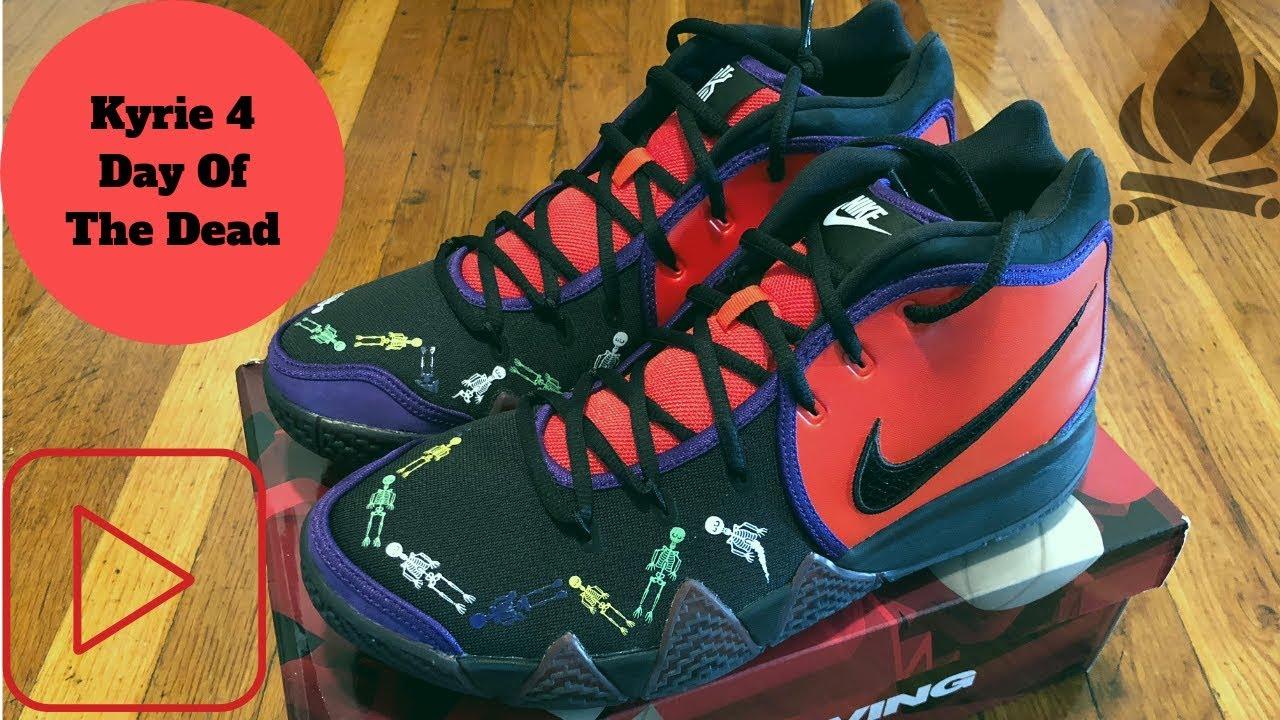 promo code 87562 7d072 Nike Air Kyrie 4 DOTD PE TV 1 Sneaker Review