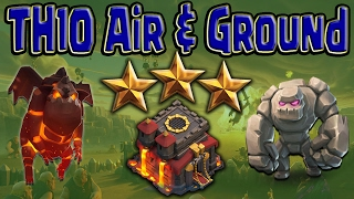 TH10 3 STAR War LaLoon Bowler Guide | Favorite New Air Attack Clash of Clans