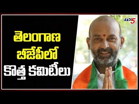 తెలంగాణ బీజేపీ లో కొత్త కమిటీలు   New committees in Telangana BJP   TV5 News
