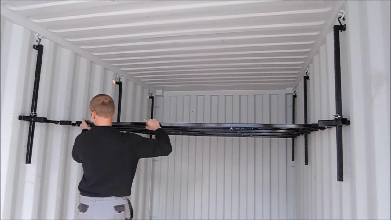 Kit Mezzanine Container Amtech Youtube