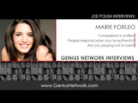 Marie Forleo:  Genius Network Interviews