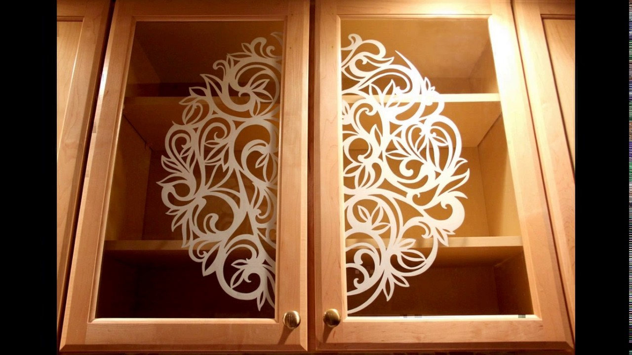 Glass Painting Designs For Kitchen Youtube