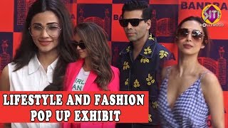 MANY CELEBS ATTEND A LIFESTYLE AND FASHION POP UP EXHIBIT