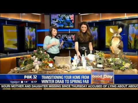 Unique Spring Decor on Fox 32 News Chicago
