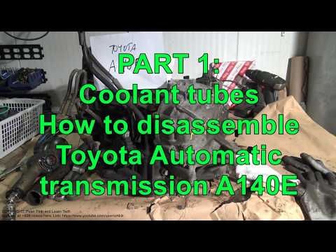 PART 1/15: How to disassemble and repair Toyota Automatic transmission A140E. Toyota Camry.