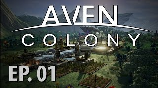 AVEN COLONY | Space Colony Builder | Beta Gameplay | Ep 1