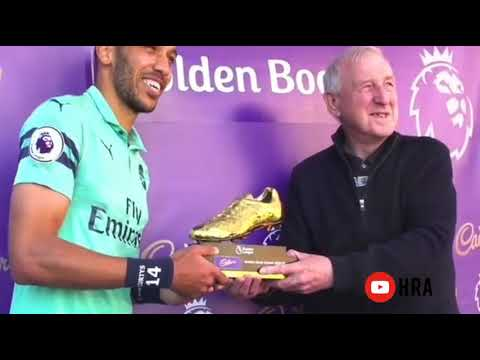 Aubameyang Golden Boot