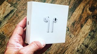 Apple AirPods UNBOXED  | ASMR