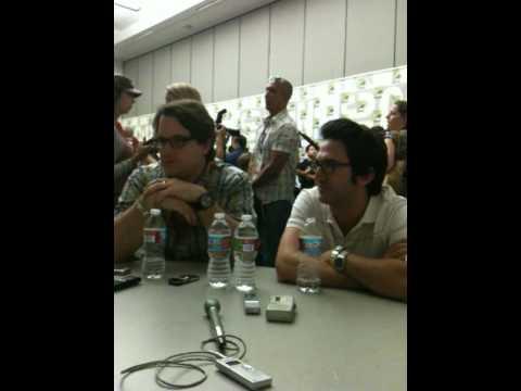 Chris Fedak and Josh Schwartz talk CHUCK with MY TAKE ON TV