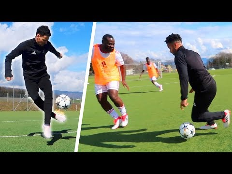 EPIC SKILLS SESSION & REAL MATCH VS FANS!