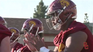 USC Football - OL Position Battle thumbnail
