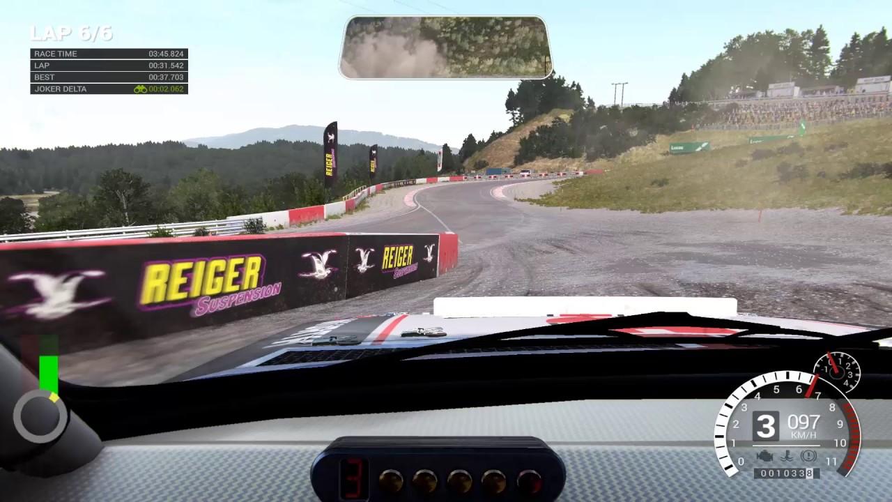 Dirt 4: Rallycross and free roam car handling comparison - YouTube