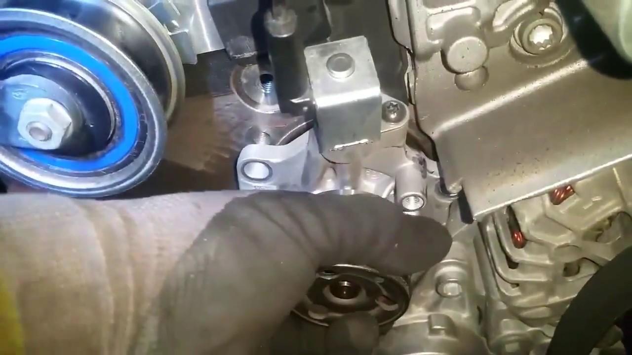 2014 VW Golf mk7 1 6 tdi, waterpump problem