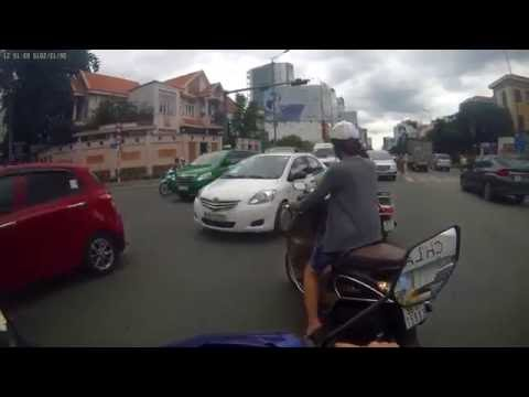 Everyday driving in Saigon / Ho Chi Minh City