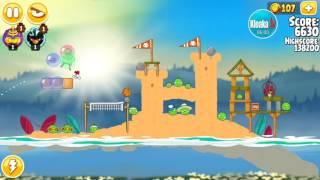 Angry Birds Seasons 1-10 Summer Camp (3 Stars)