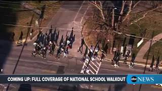 National School Walkout Day: Coverage of school walkout to protest gun violence | ABC News